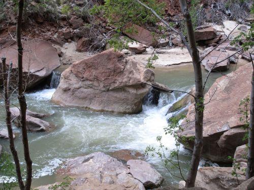 river zion national park utah