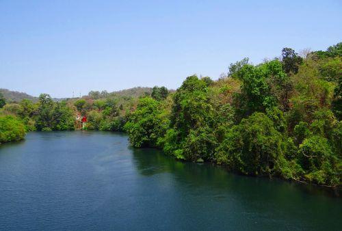 river kali nature