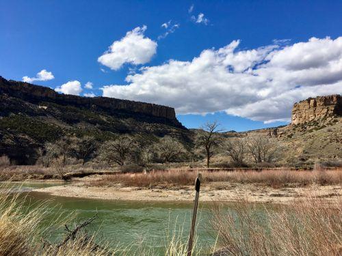 River Bend In Colorado