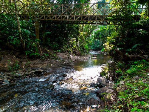 river landscape bridge north thailand