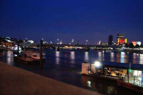 river thames england night