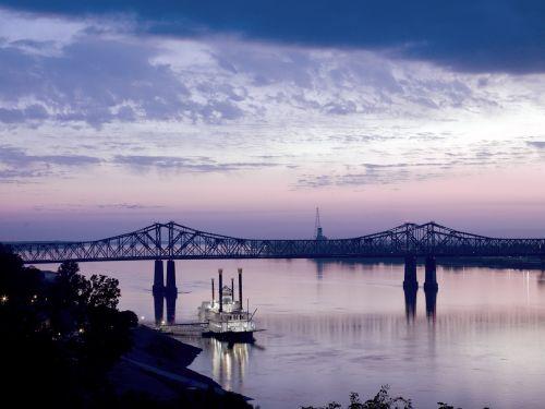 riverboat bridge steamboat