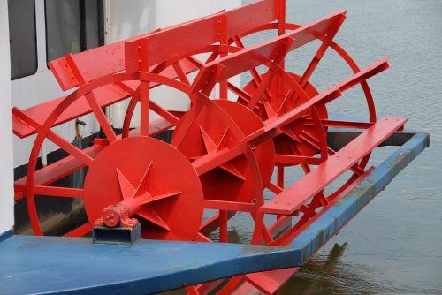 Riverboat Paddle Wheel