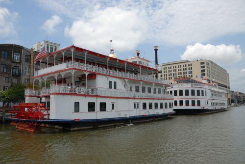Riverboats On The Savannah River