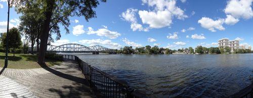riverside park scenery
