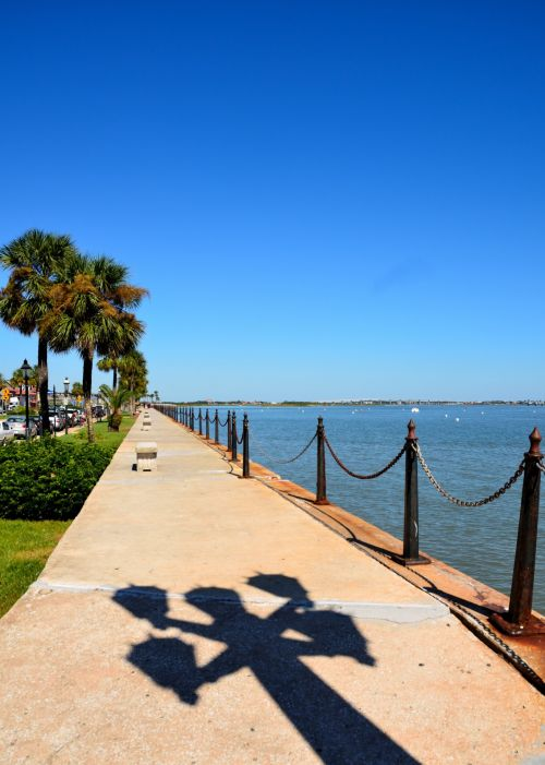riverwalk, matanzas & nbsp, upė, & nbsp, augustinas, florida, takas, upės & nbsp, kraštas, istorinis, turizmas, kelionė, atostogos, garsus & nbsp, vieta, riverwalk st. Augustine, florida