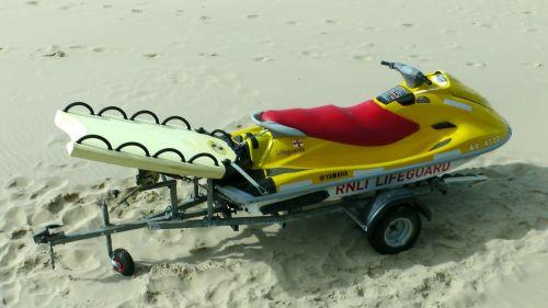 R.N.L.I Lifeboats Jet Ski