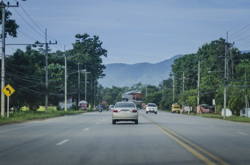 road lane highway