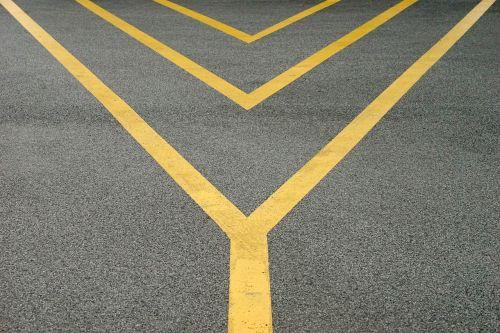 road line symmetry