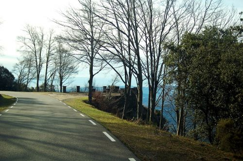 road montseny mountain road