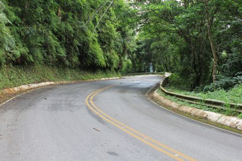 highway closed curve brazil