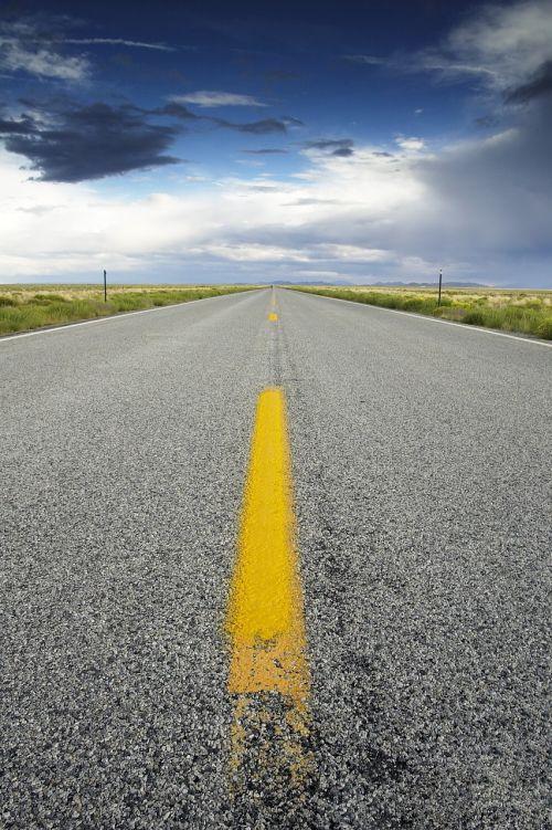 road sky highway