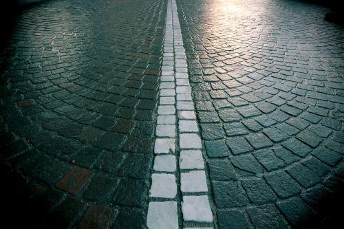 road rain raining