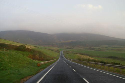 road endless nature