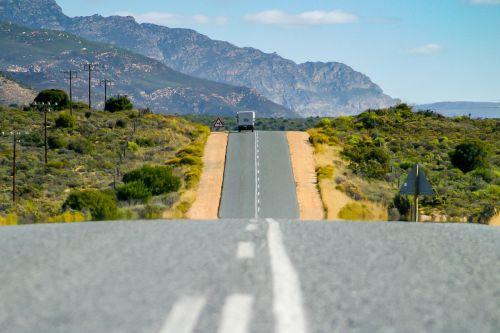 garden route asphalt road