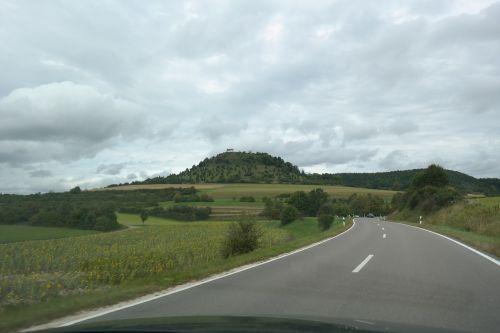 road drive landscape