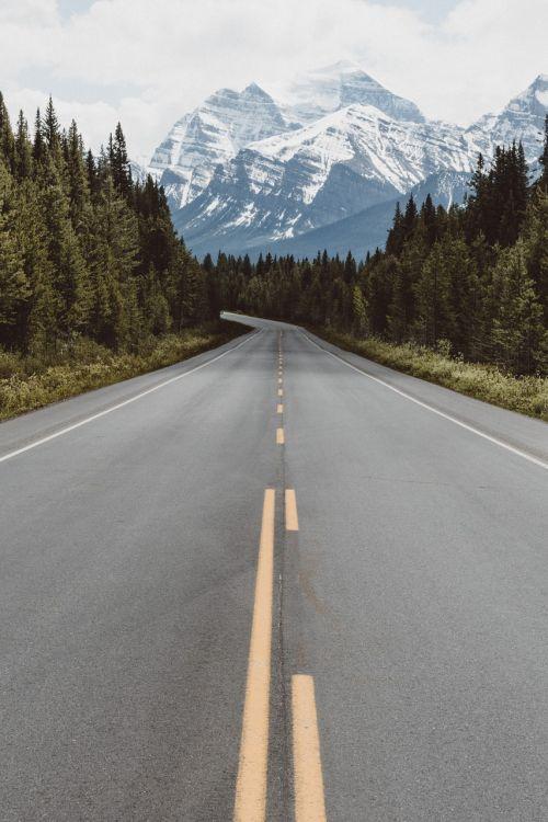 kelias,kelionė,kelionė,kelionė,kelionė,vairuoti,dykuma,niekur,lauke,kempingas,kalnai,uolingas,Kanada,Alberta,montana,greitkelis,vienišas