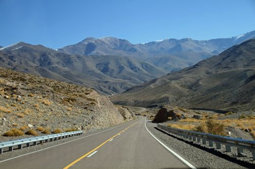 road mountain travel