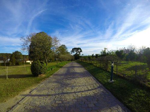 road field path