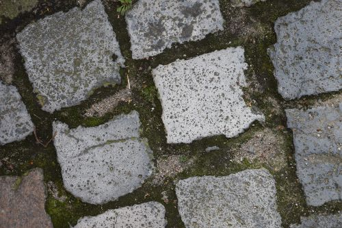 road paving stone background