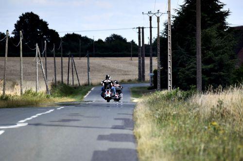 road motorcycle biker