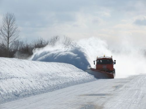 road cleaning blizzard