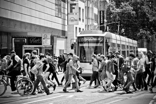 road tram city
