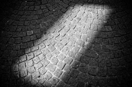road patch stones