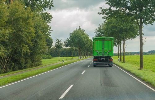 road truck traffic
