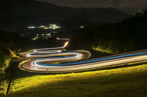 road night view vehicle irony