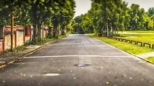 road asphalt street