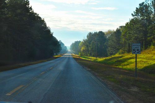 road asphalt nature