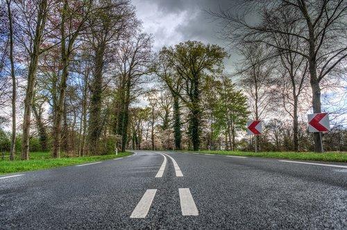 road  asphalt  guidance
