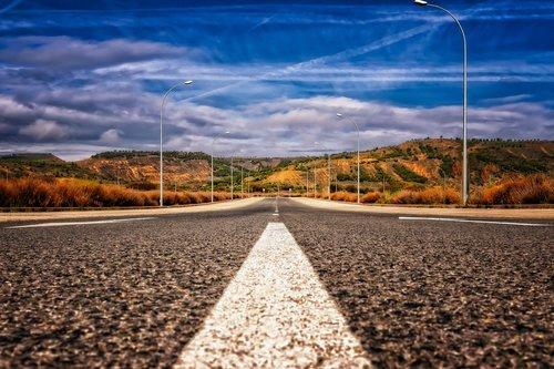 road  asphalt  mark