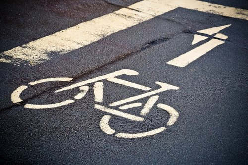 road  mark  asphalt