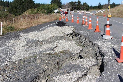 road  broken  crack