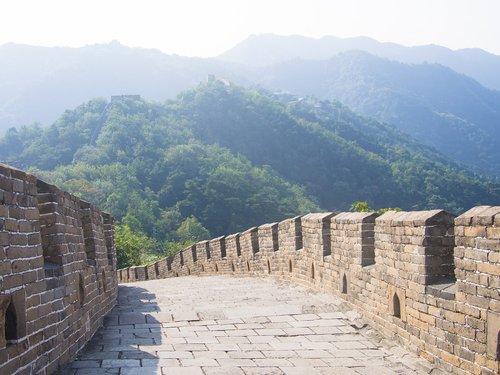 road  the great wall of china  china