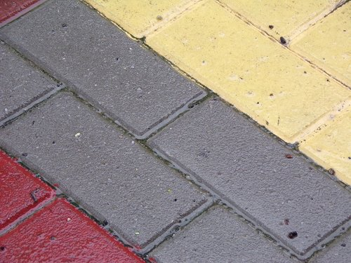 road  paving stone  solid
