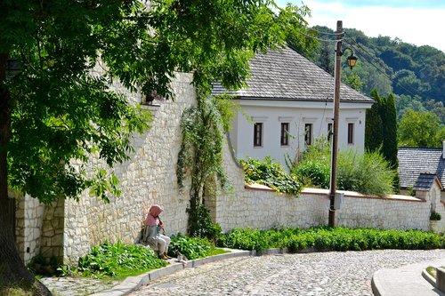road  middle ages  kazimierz