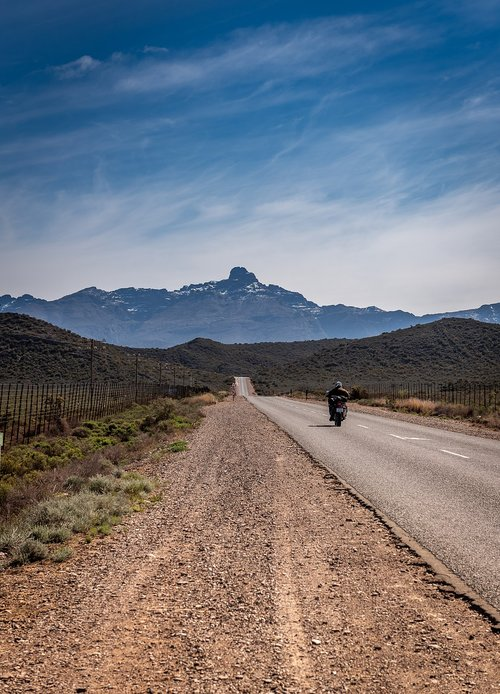 road  motorcyclist  south africa