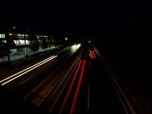 road highway night