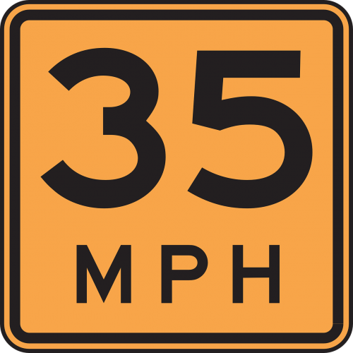 road driving speed