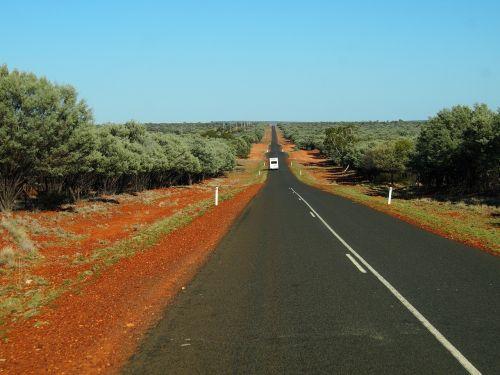 road outback desert