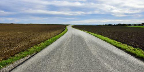 road away flat
