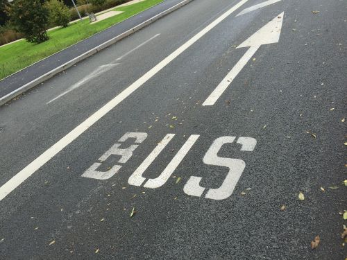 road bus track