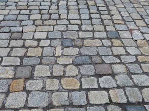 road ground paving stones