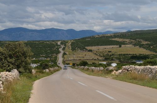 road winding roads hill