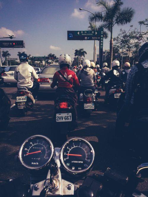road street motorbike