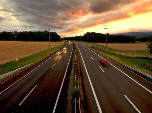 road motorway freedom