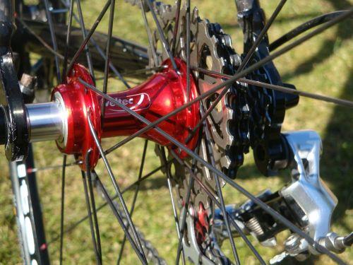 road bike rear wheel rear axle
